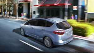 The Ford C-Max will be featured at KB Homes ZeroHouse 2.0. It boasts 47 MPG City/Hwy.
