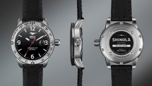 Ford and Shinola, Detroit-based manufacturer, Team up to Celebrate 50 Years of Mustang with a special watch.