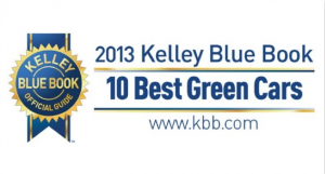 Ford Focus makes Kelley Blue Book's 10 Best Green Cars of 2013