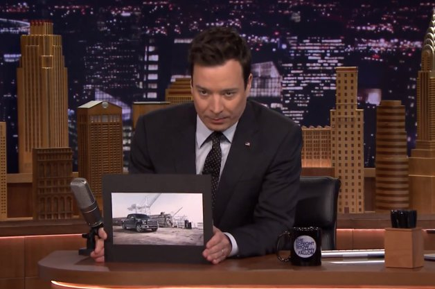 Ford F 150 King Ranch Bring Joy To Jimmy Fallon The Reed