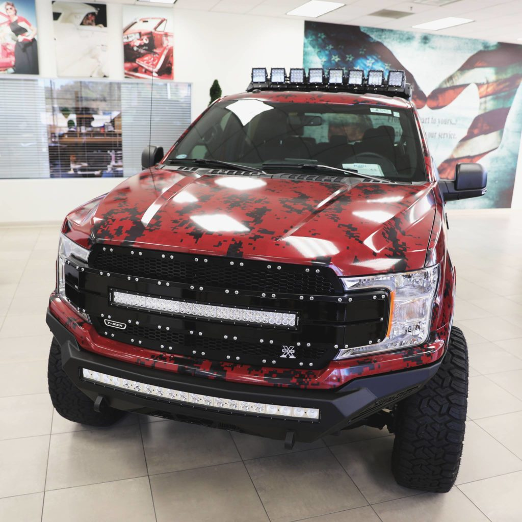 Planet Ford Sells Ekstensive Metal Truck To Benefit Boots For Troops The Reed Factorthe Reed Factor