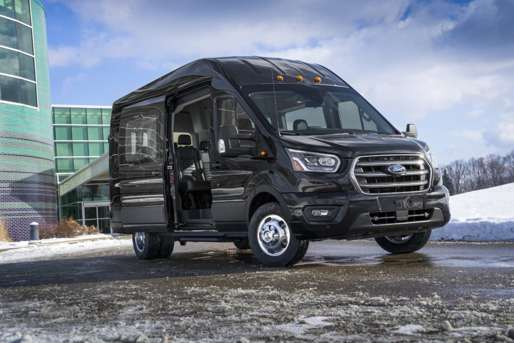 ee09ba2f34 New features for best-selling Ford Transit family include available  all-wheel drive for improved traction  2020 Transit also sees two all-new  engines and ...